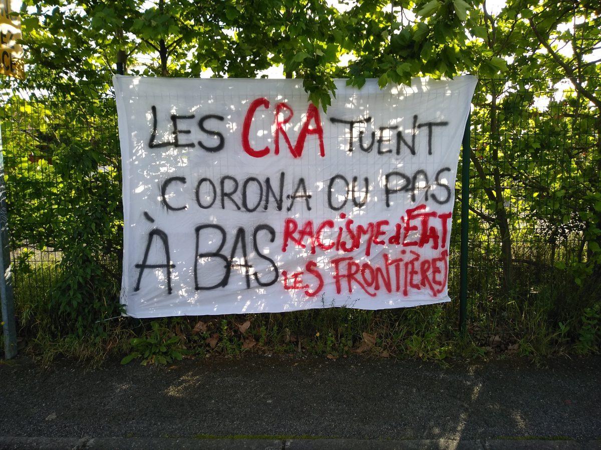 Retour sur un week-end de luttes contre les CRA et de solidarité avec les sans-papiers !
